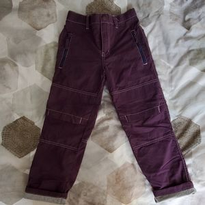 Miniboden purple pants with lining